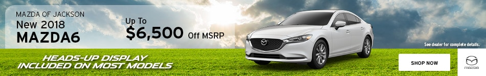 2018 Mazda6 May Offer