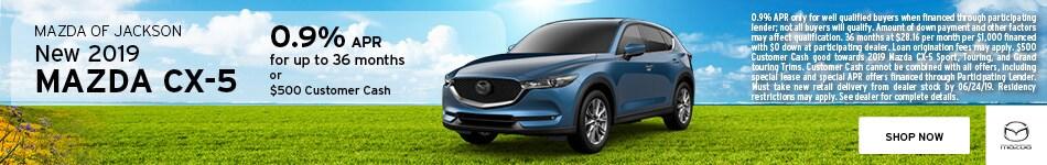 2019 Mazda CX-5 June Offer