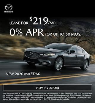 New 2020 Mazda6 - October 2020