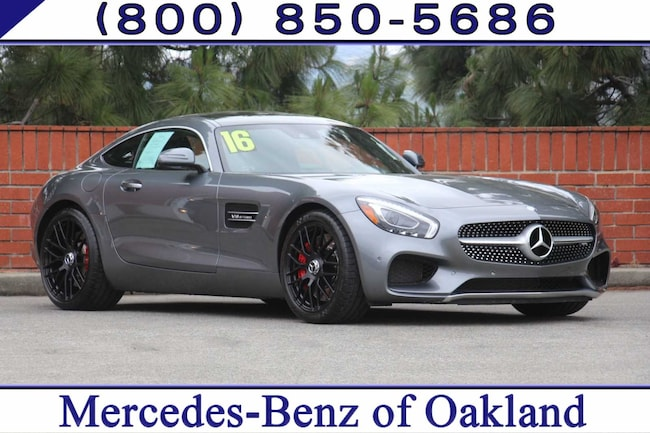 Pre-Owned 2016 Mercedes-Benz AMG® GT S 2D Coupe Coupe for sale in Oakland, CA