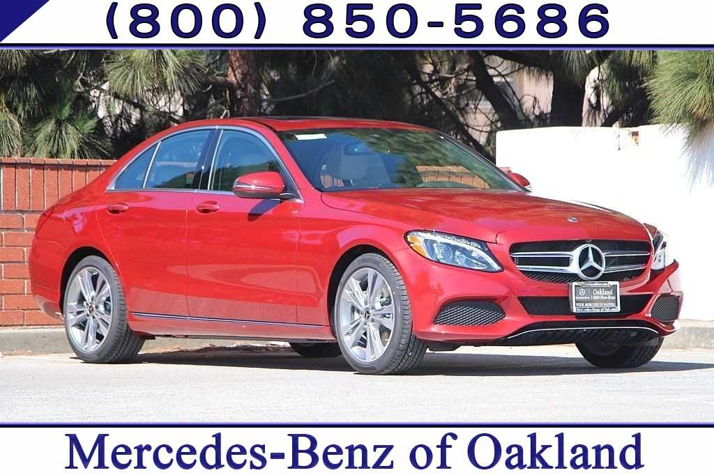 New 2018 Mercedes-Benz C-Class C 300 Sedan for sale in Oakland, CA