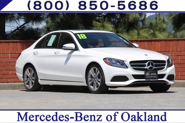 Pre-Owned 2018 Mercedes-Benz C-Class C 300 4D Sedan Sedan for sale in Oakland, CA
