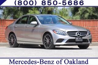 Certified Pre-Owned 2019 Mercedes-Benz C-Class C 300 4D Sedan Sedan 12813 for sale in Oakland, CA
