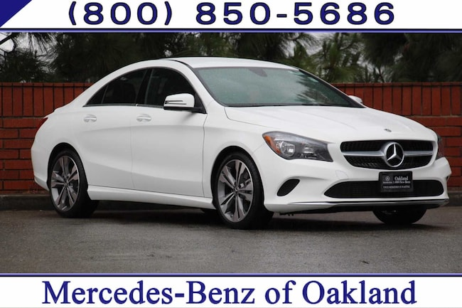 Certified 2019 Mercedes-Benz CLA CLA 250 4D Sedan Sedan for sale in Oakland, CA at Mercedes-Benz of Oakland