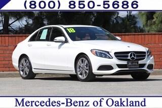 Certified Pre-Owned 2018 Mercedes-Benz C-Class C 300 4D Sedan Sedan 12819 for sale in Oakland, CA