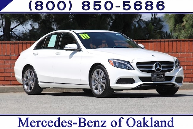 Certified 2018 Mercedes-Benz C-Class C 300 4D Sedan Sedan for sale in Oakland, CA at Mercedes-Benz of Oakland