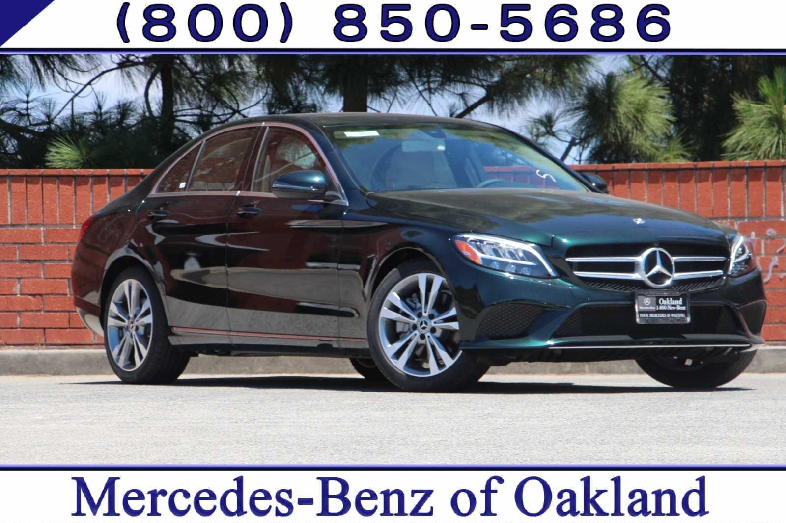 New 2019 Mercedes-Benz C-Class C 300 Sedan for sale in Oakland, CA