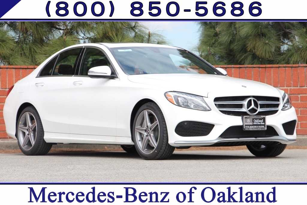 New 2018 Mercedes-Benz C-Class C 300 Sedan for sale in Oakland, CA