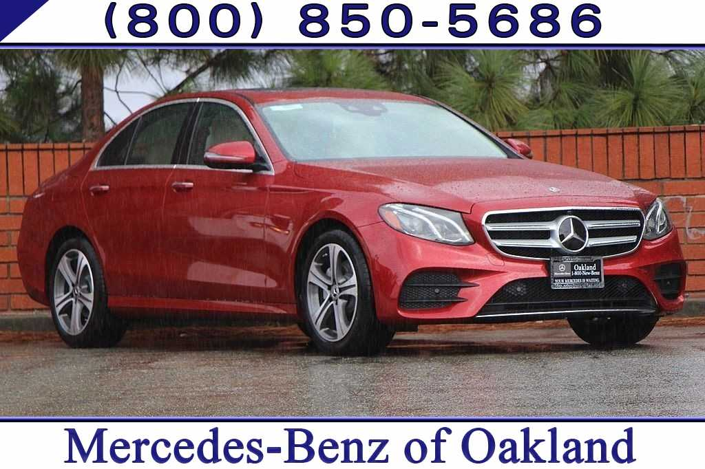 New 2019 Mercedes-Benz E-Class E 300 Sedan for sale in Oakland, CA