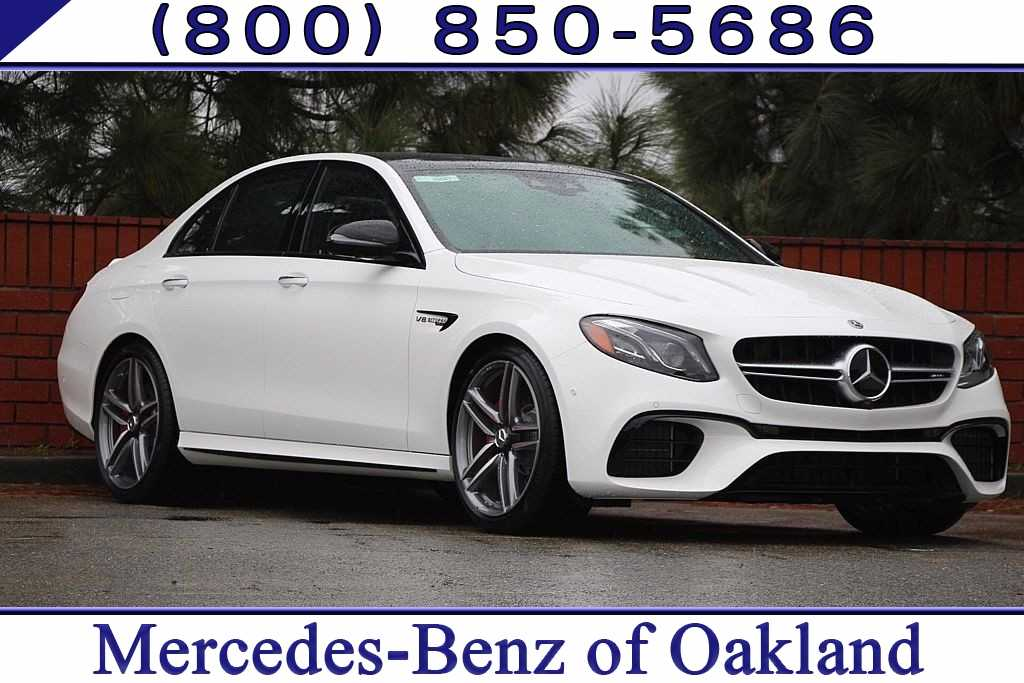 New 2019 Mercedes-Benz AMG E 63 S 4MATIC Sedan for sale in Oakland, CA