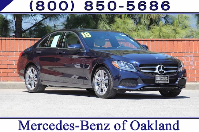 Pre-Owned 2018 Mercedes-Benz C-Class C 300 4D Sedan Sedan for sale in Oakland, CA