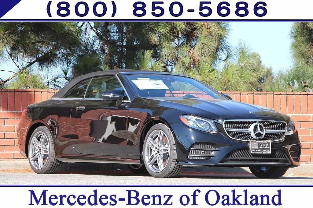 New 2019 Mercedes-Benz E-Class E 450 Cabriolet for sale in Oakland, CA