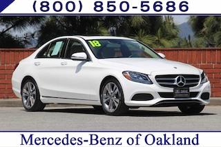 Certified Pre-Owned 2018 Mercedes-Benz C-Class C 300 4D Sedan Sedan 12817 for sale in Oakland, CA