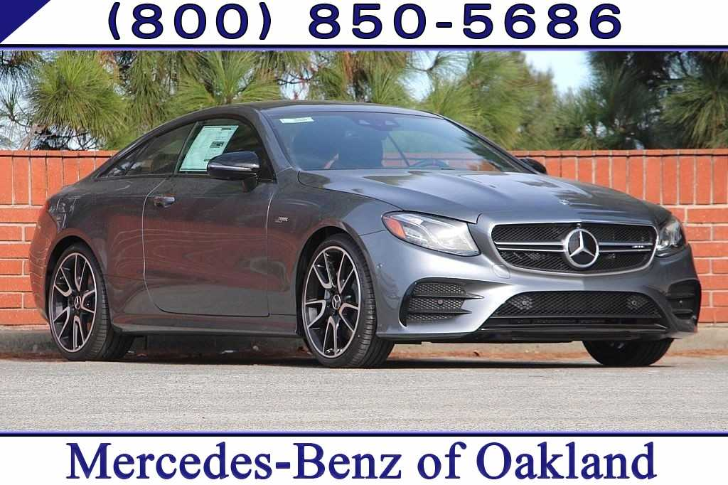 New 2019 Mercedes-Benz AMG E 53 4MATIC Coupe for sale in Oakland, CA