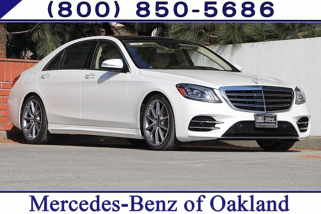 New 2019 Mercedes Benz S Class S 560 Sedan For Sale In Oakland,