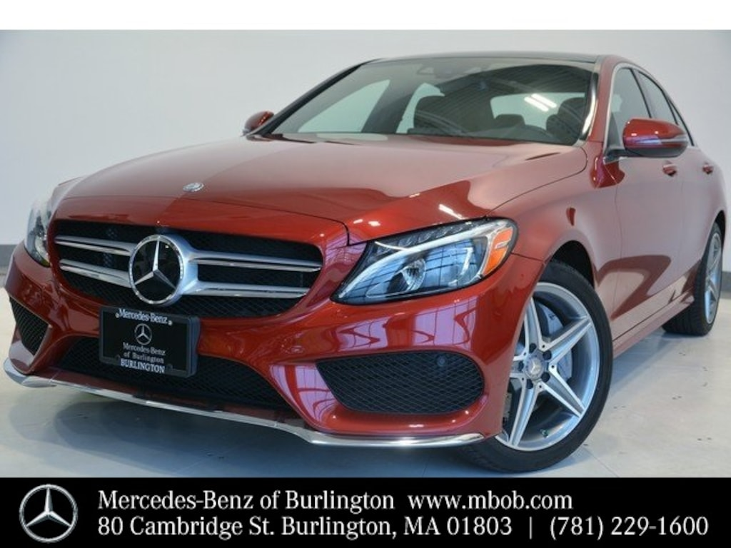 Certified 2016 Mercedes Benz C Class For Sale In New Hampshire