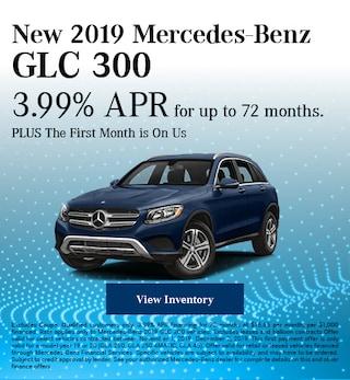 November New 2019 Mercedes-Benz GLC 300 Offer