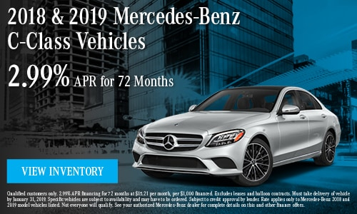 January '19 C-Class Offer
