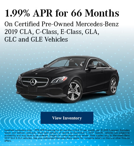 November 1.99% APR for 66 Months CPO Offer