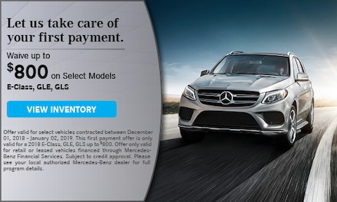 Waive up to $800 on Select Vehicles