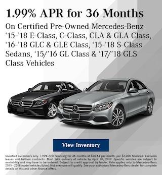 April CPO 1.99% Finance Offer