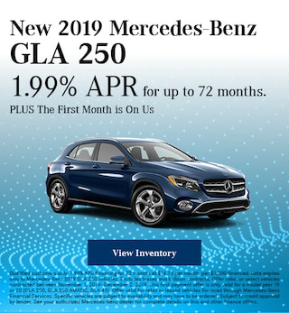 November New 2019 Mercedes-Benz GLA 250 Offer