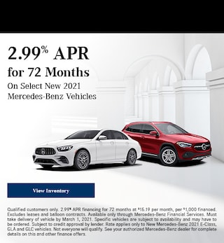 February 2.99% APR for 72 Months Offer