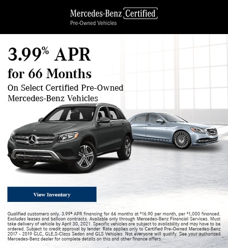 3.99% APR for 66 Months