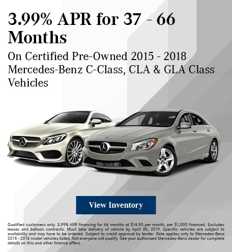 April CPO 3.99% Financing Offer