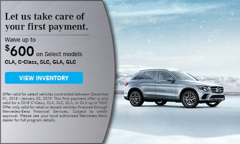 Waive up to $600 on Select Models