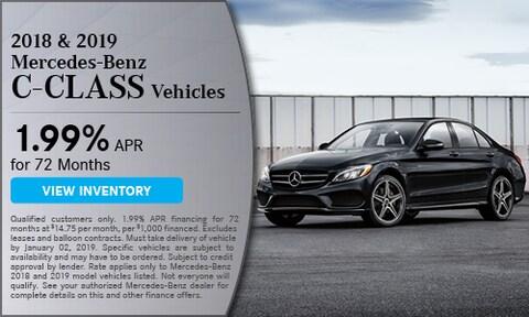 2018-2019 Mercedes-Benz C-Class Offer