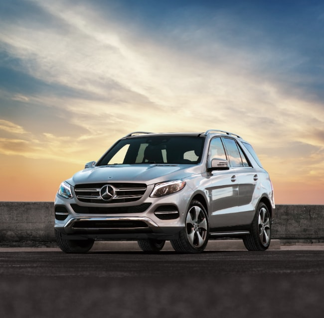 Mercedes-Benz 2018 GLE Coupe from straight on