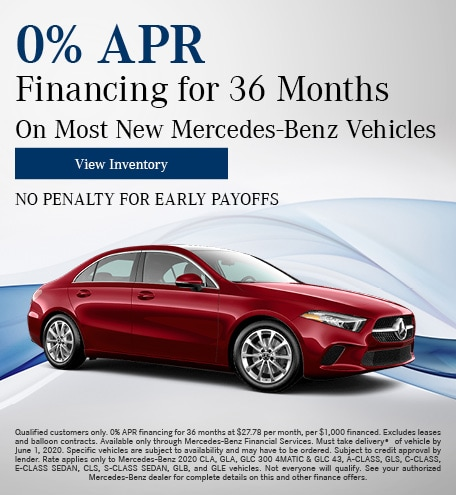 0% APR Financing for 36 Months