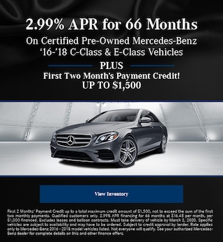 February 2.99% APR for 66 Months CPO Offer