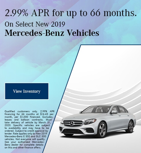 March 2.99% APR New Vehicle Finance Offer