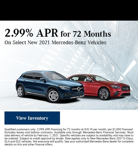 January 2.99% APR for 72 Months Offer