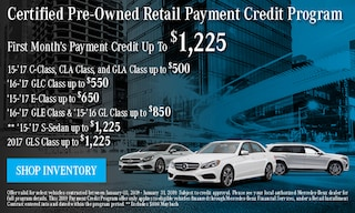 January CPO Retail payment Credit Program
