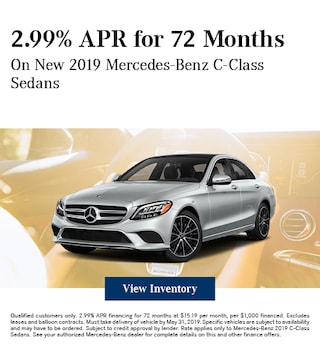 May C-Class Finance Offer