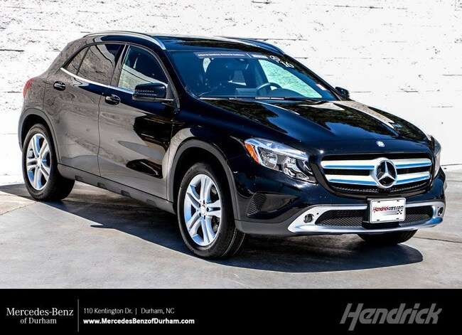 0e2e483b1189 Used 2016 Mercedes-Benz GLA Durham