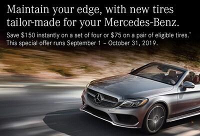Mercedes-Benz Tire Event