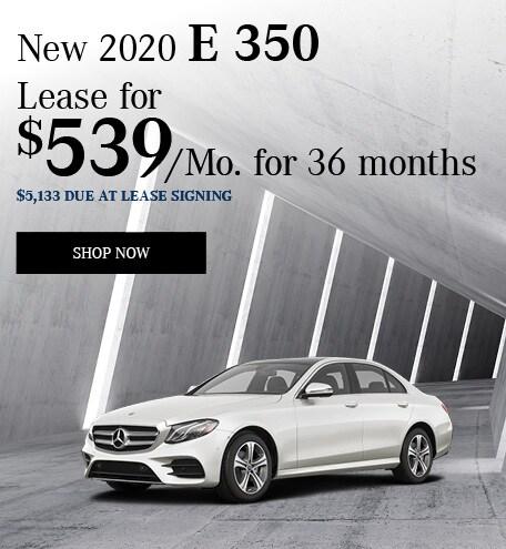 Jan 2020 -  E 350 Lease