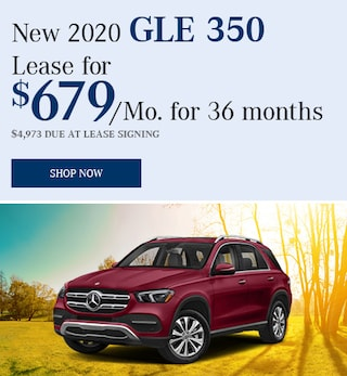 May 2020 - GLE350 Lease