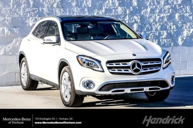 New 2019 Mercedes-Benz GLA 250 SUV Durham NC