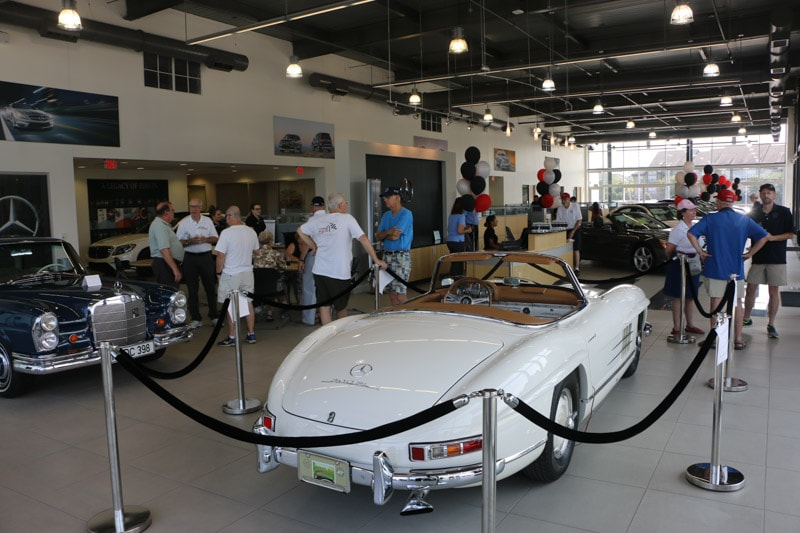 Mercedes-Benz of Durham was happy to raise money and donations to benefit the Durham Rescue mission.