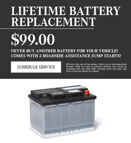 Lifetime Battery Replacement