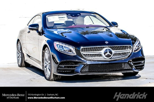 2019 Mercedes-Benz S-Class S 560 Coupe