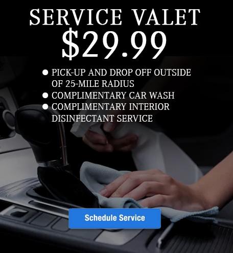 $29.99 Service Valet
