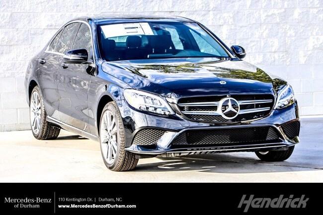 New 2019 Mercedes-Benz C-Class C 300 Sedan Durham NC