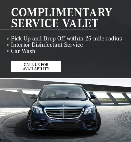 Complimentary Service Valet