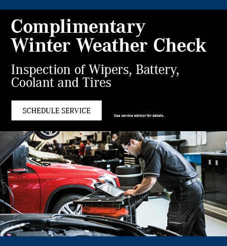 Complimentary Winter Weather Check